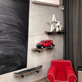 3D панель Скошенный бетон