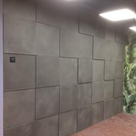 3D панель Квадрат [600x600] Бетон