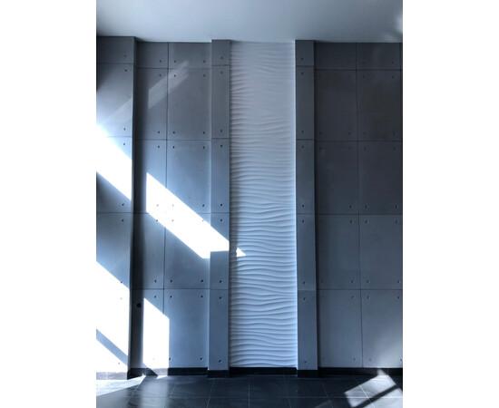 Бетонная 3Д панель 1000х600, фото 10