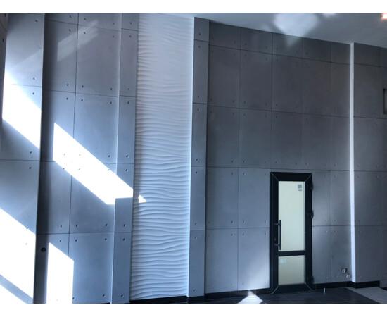 Бетонная 3Д панель 1000х600, фото 9