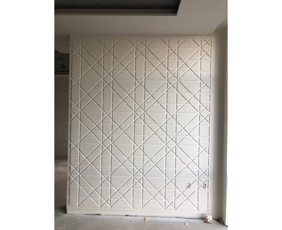 Гипсовая 3Д панель Led line, фото 11