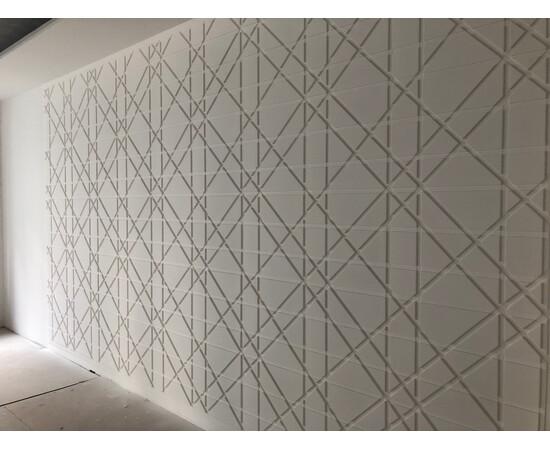 Гипсовая 3Д панель Led line, фото 12
