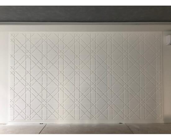 Гипсовая 3Д панель Led line, фото 13