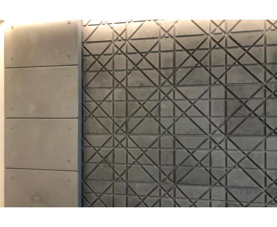 Бетонная 3Д панель Led line, фото 8