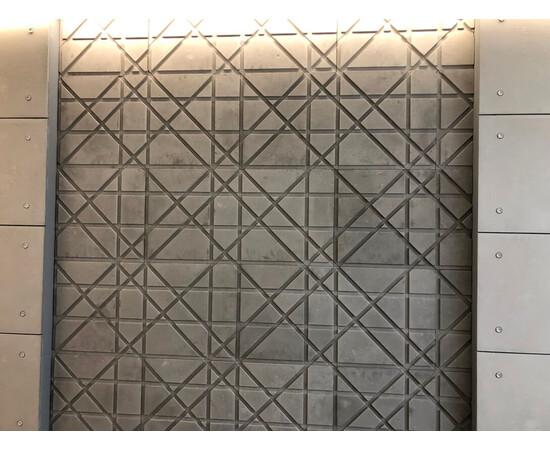 Бетонная 3Д панель Led line, фото 4