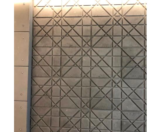 Бетонная 3Д панель Led line, фото 3
