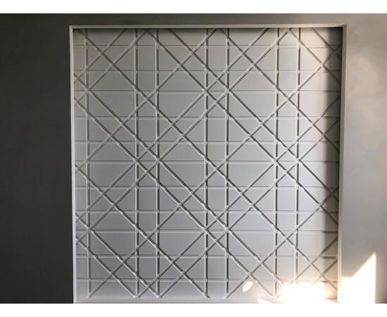 Гипсовая 3Д панель Led line, фото 7