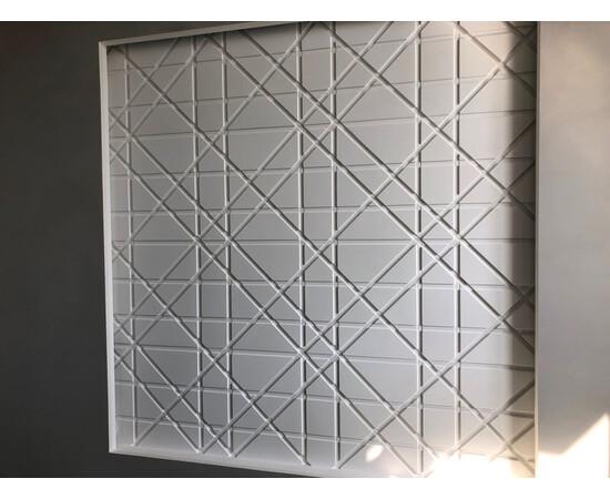 Гипсовая 3Д панель Led line, фото 3