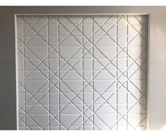 Гипсовая 3Д панель Led line, фото 4