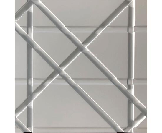 Гипсовая 3Д панель Led line, фото 10