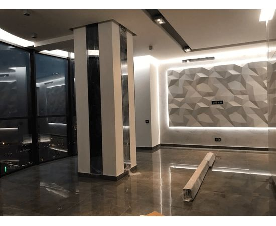 Гипсовая 3Д панель ICEBERG, фото 7