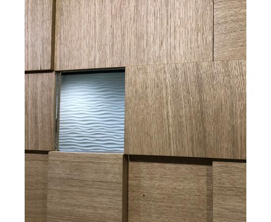 Деревянная 3D панель Квадрат [200х200]