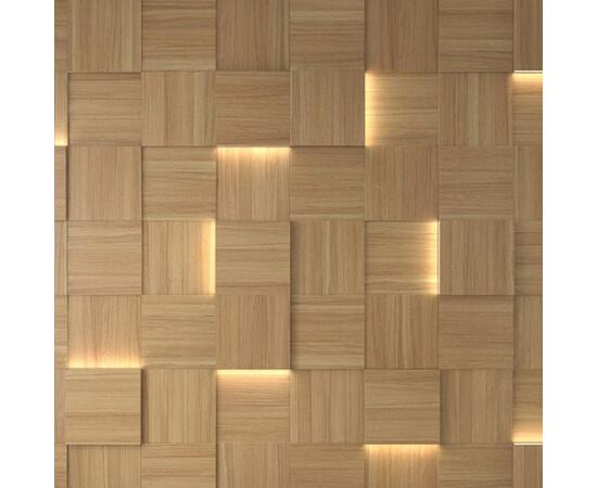 Деревянная 3D панель Квадрат  [250х250] ДСП